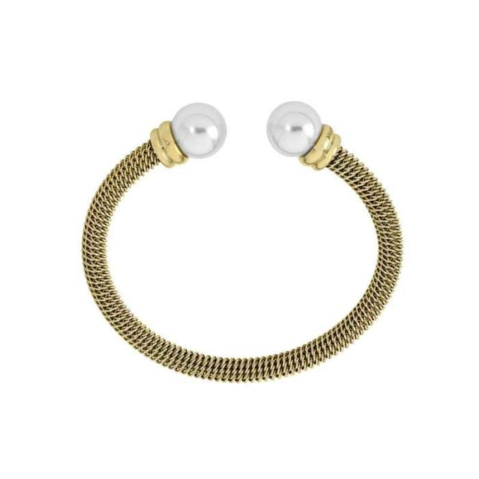 Bracelet rigid Tender. White/Golden