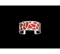 Brazalete de Les Georgettes Girafe 25 mm_rojo
