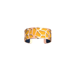 Bracelet by Les Georgettes Girafe 25 mm. Golden_sun