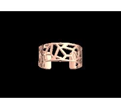 Bracelet Girafe 25 mm. Pink gold