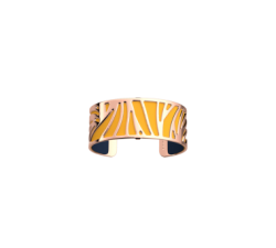 Bracelet Perroquet 25 mm. Pink gold_Sun
