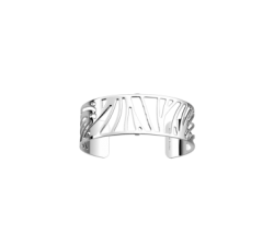 Brazalete de Les Georgettes Perroquet 25 mm. Acabado en plata