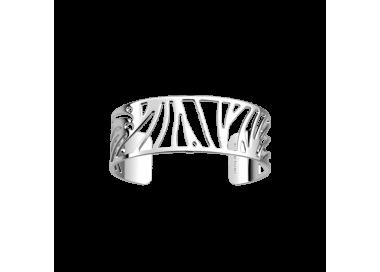Bracelet by Les Georgettes Perroquet 25 mm. Silver