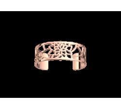 Brazalete Nénuphar 25 mm. Oro rosa