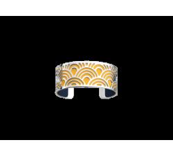 Bracelet by Les Georgettes Poisson 25 mm_sun