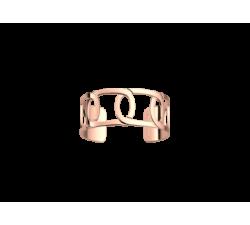 Brazalete de Les Georgettes Maillon 25 mm. Oro rosa