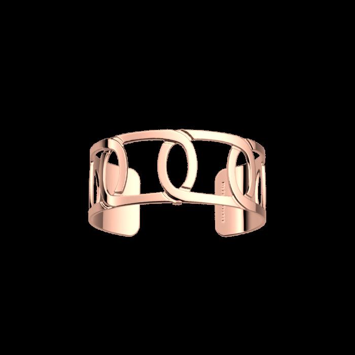 Bracelet Maillon 25 mm. Pink gold
