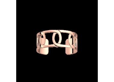 Bracelet by Les Georgettes Maillon 25 mm. Pink gold