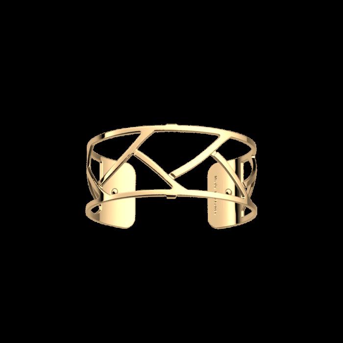 Brazalete Tresse 25 mm. Dorado