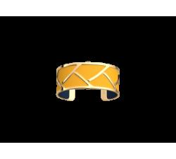 Bracelet by Les Georgettes Tresse 25 mm. Golden_sun