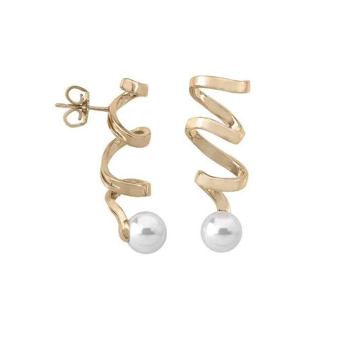 Earrings Cotillón Golden