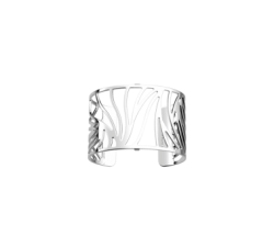 Brazalete Perroquet by Les Georgettes. Silver finish
