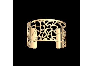 Bracelet Nénuphar by Les Georgettes. Golden finish