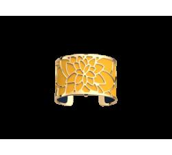 Brazalete dorado Nénuphar color Sun