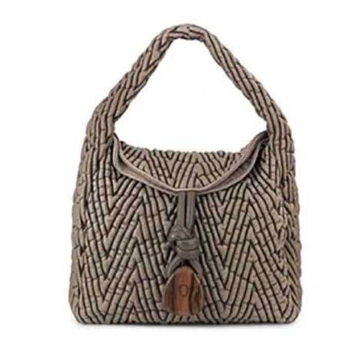 Bolso de cuero Uptown Sack Space Bubble