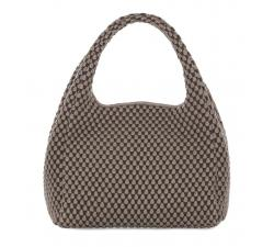 Bolso mano de Tissa Fontaneda Simple Matter. Color Ash Grey
