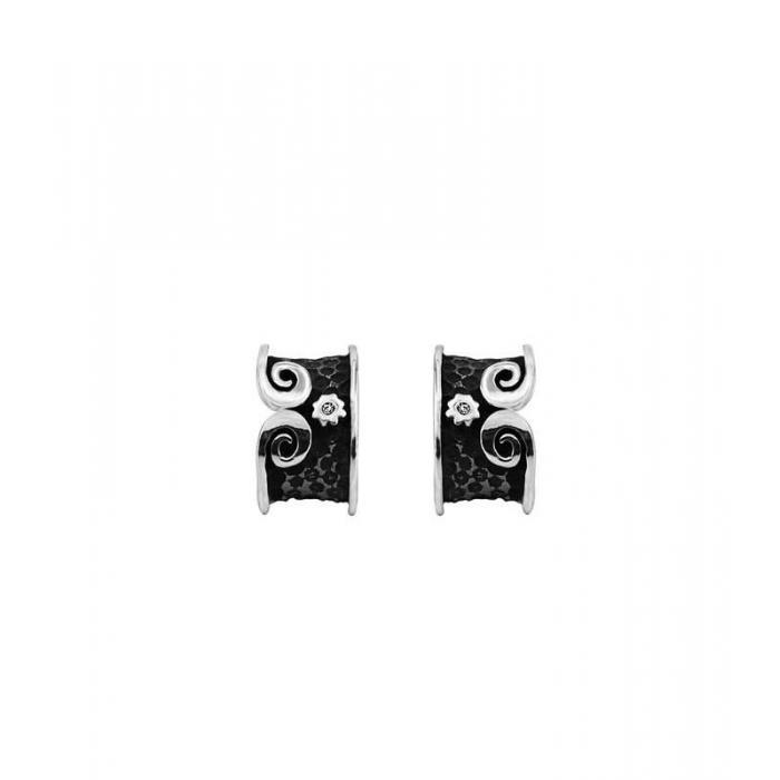 Earrings X silver 2