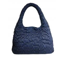 Tissa Fontaneda handbag Simple Matter Space Leather_blue
