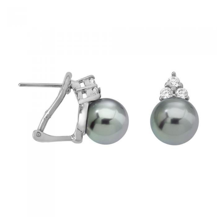 Earrings Ceres Gray