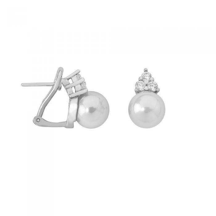 Earrings Ceres White