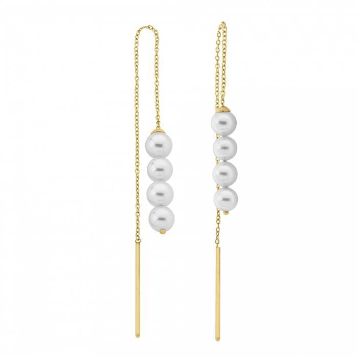 Earrings Mikonos Golden