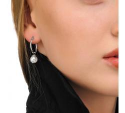 Pendientes con perla Majorica Anneau_Modelo