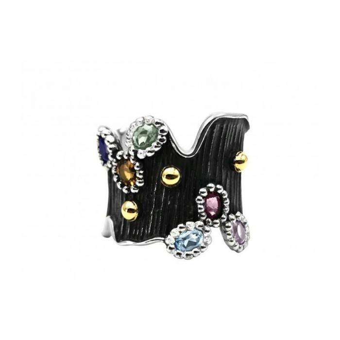 Ring Allegria Gold and Gems
