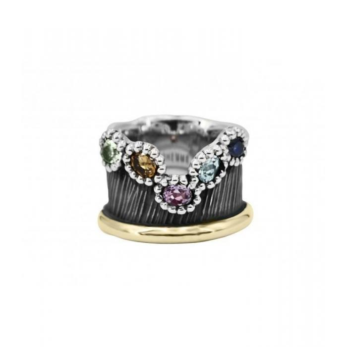 Ring Allegria Gold and Gems 2