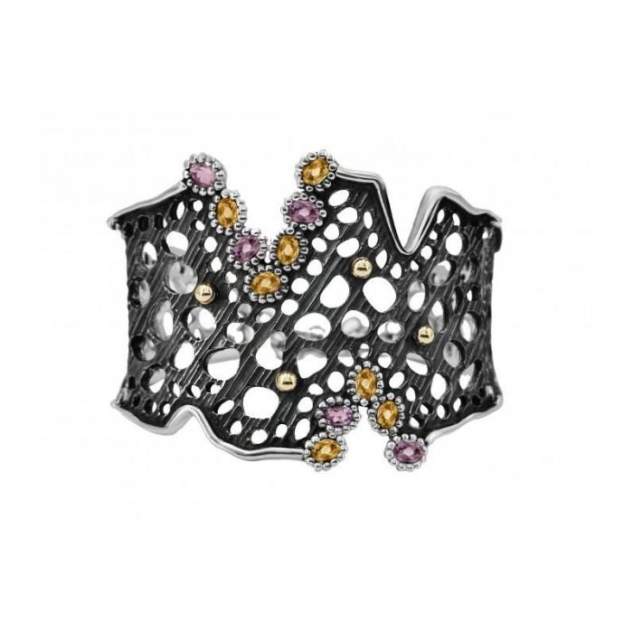 Bracelete Allegria Gold and Stone 2