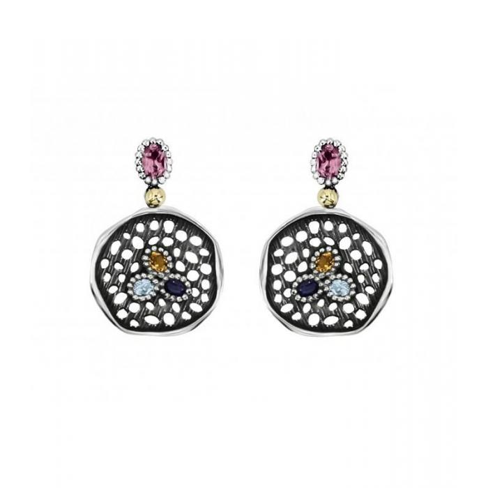 Earrings Allegria Gold and Gems