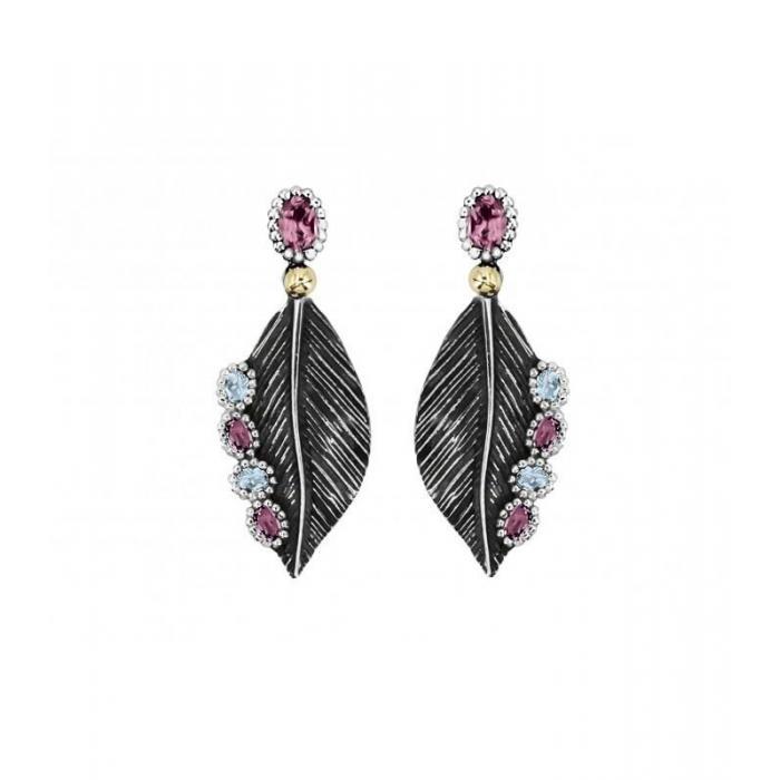 Earrings Allegria Leaf