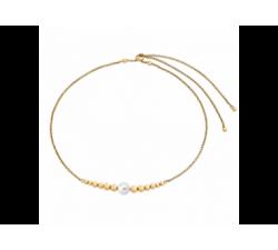 Collar dorado con perla_Majorica Atlas 2