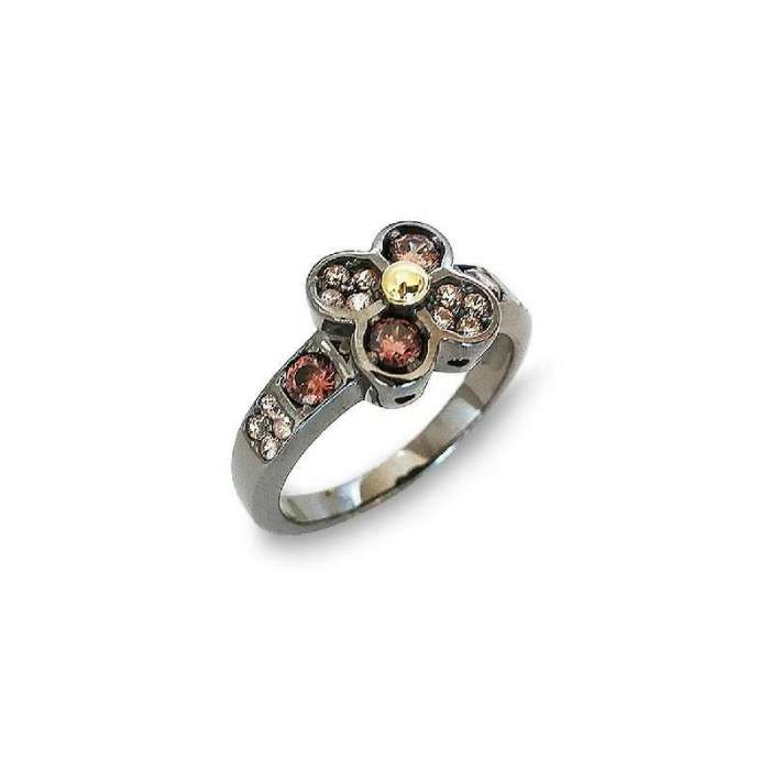 Ring Choco Cool. Flor
