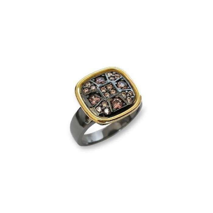 Ring Choco Cool. Rectangular