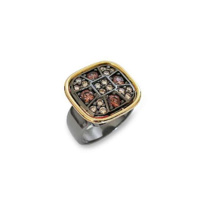 Anillo Choco Cool. Rectangular 2