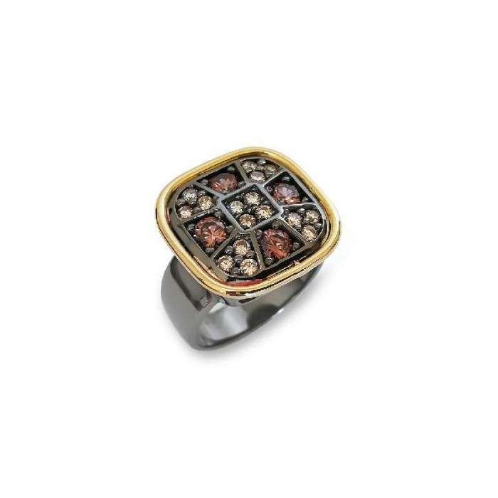 Ring Choco Cool. Rectangular 2