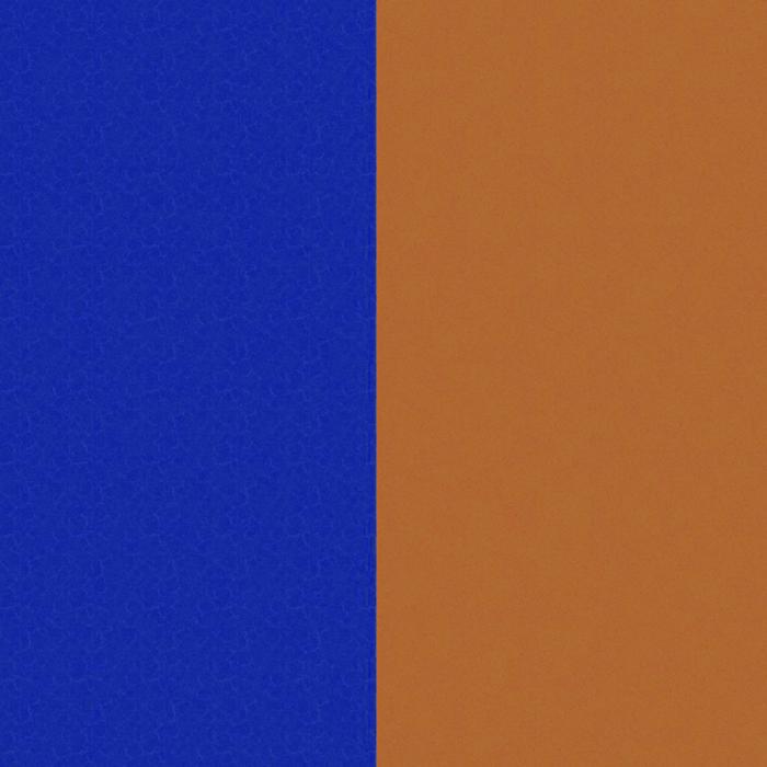 Banda de Piel Azul Denim / Cañón