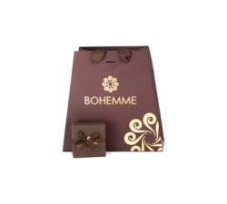 Box for the Silver ring by spanish jewellry brand Bohemme Choco Cool 2