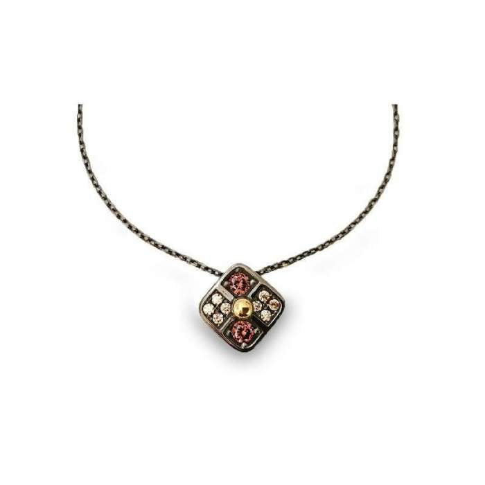 Silver pendant by Bohemme Choco Cool 1