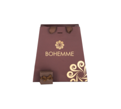 Box for the silver pendant by Bohemme Choco Cool 1