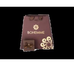 Box for Silver earrings Princess Tale. Marrón by Bohemme