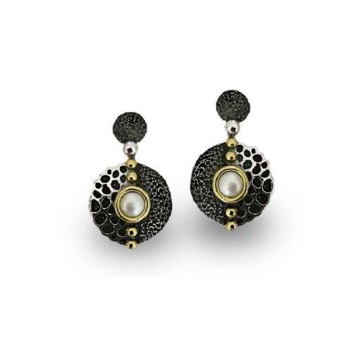 Earrings Tesoro Marino. Pearl