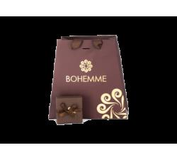 Box for Silver earrings by Bohemme Tesoro Marino. Drop