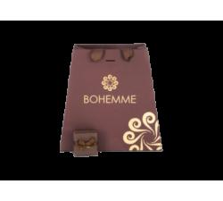 Caja para Pendientes de plata Choco Cool. Cuadrado