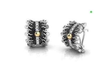 Silver earrings by Bohemme Sahara Nights 2