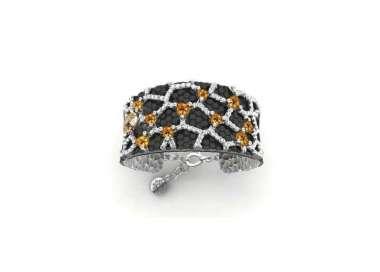 Silver bracelet by Bohemme Savage Essence