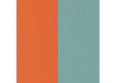 Leather band Lilium Orange / Blue Nimbus for Les Georgettes bracelet