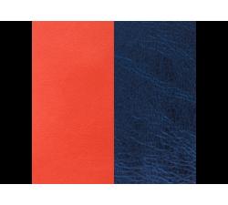 Banda de Piel Coral / Marino para brazaletes de Les Georgettes