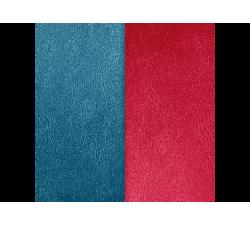 Banda de Piel Azul Petróleo / Frambuesa