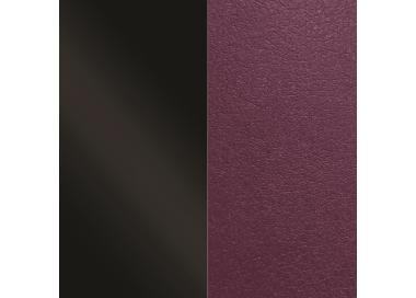 Leather band Charol Black / Violet for Les Georgettes bracelets